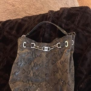 Tory Burch reptile bag